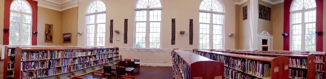 Panoramic photo of CECH Library