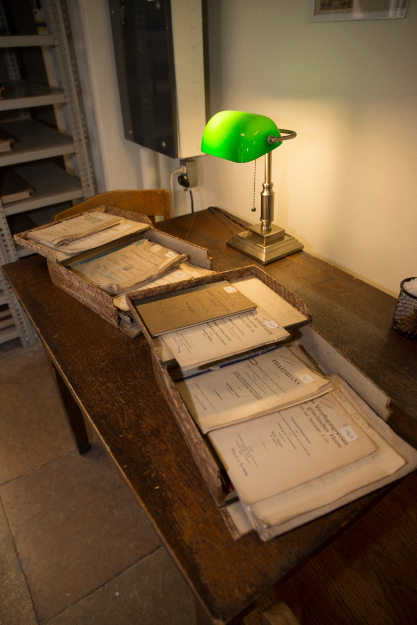 Some of the German dissertations